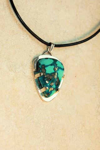 Pyrite Turquoise 2